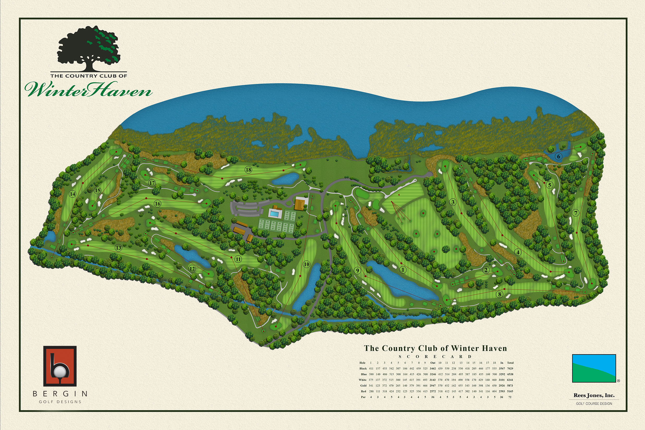 Services - Golf Course Design Services | BerginGolfDesigns